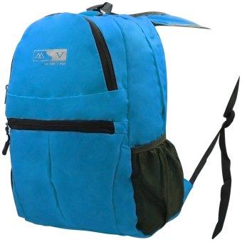 MV Unisex Travel Foldable Backpack (Blue) - picture 2