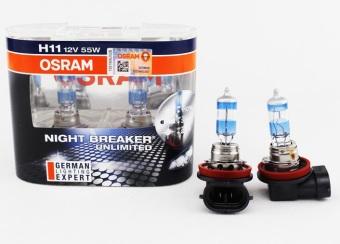 osram night breaker unlimited h11 headlight foglight. Black Bedroom Furniture Sets. Home Design Ideas