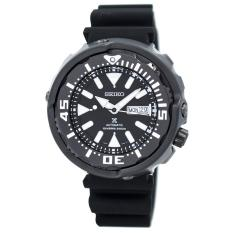 PHP 19.630. Seiko Watch Prospex Black Stainless-Steel Case Silicone Strap Mens Japan NWT + Warranty ...