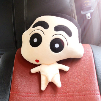 Shinchan Cute car neck pillow car headrest