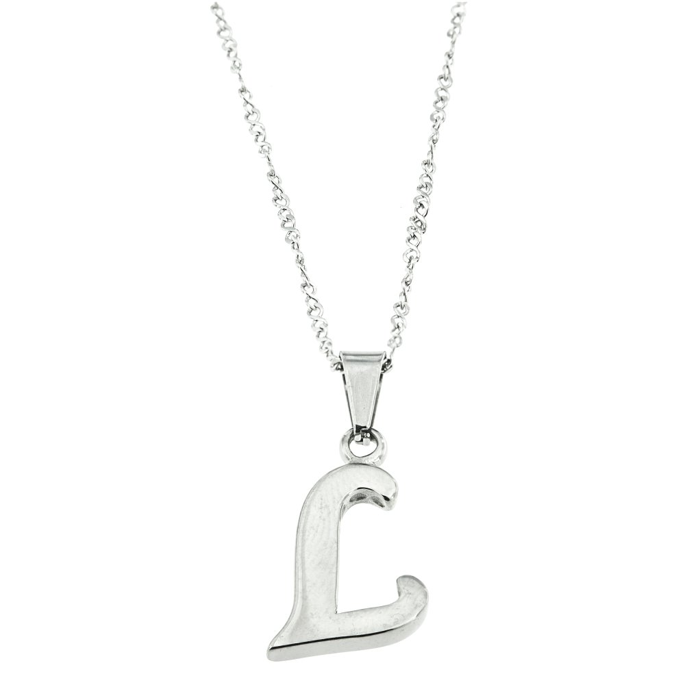 silverworks x1963 letter l necklace lazada ph