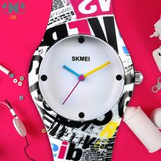 PHP 299. SKMEI 6056xzp Student's Multifunction Waterproof Luminous Silicone Strap Sports Quartz WatchPHP299