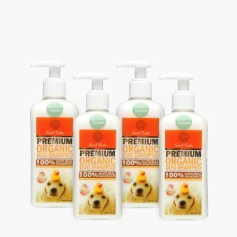 St. Roche Premium Organic Mother Nature Dog Shampoo 250mL (Set of 4)