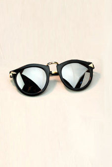 Toprank Cool Women Sunglasses Sports Motorcycle Bicycle Cycling Eyewear Sun Glasses Goggles Women Sunglasses ( Silver )