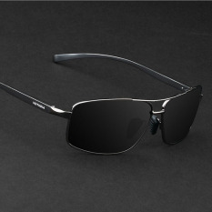 polarized sunglasses for men 0x34  VEITHDIA 2458 Polarized Sunglasses Men black frame gray lens