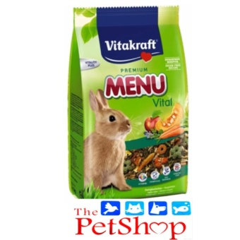 Vitakraft Rabbit Food 500g Premium Menu Vital