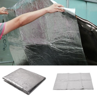 Waterproof Self Adhesive Cars Heat Sound Insulation Cotton Automobile Vehicle - intl