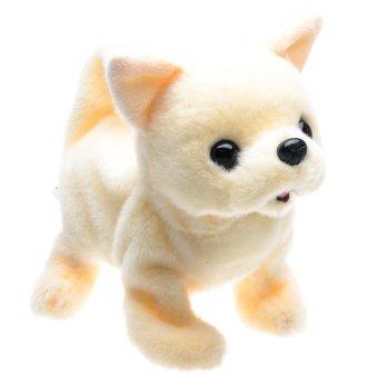 Iwaya Battery Operated Baby Chihuahua Dog Stuffed Toy ...