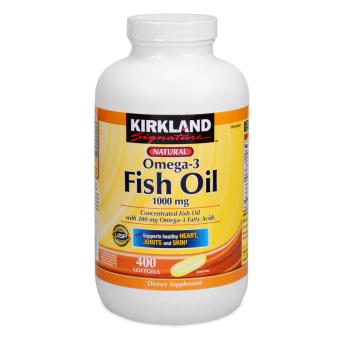Kirkland signature fish oil 1000mg 400 softgels lazada ph for Kirkland signature fish oil