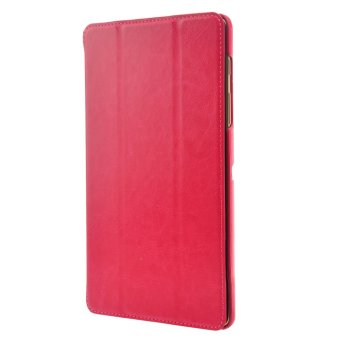 Smart PU Flip Cover for Samsung Galaxy Tab S 8.4 T700 /T705C Rosy