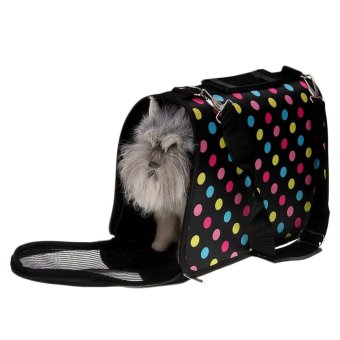 soft portable dog pet puppy travel house kennel tote crate