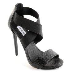 Steve Madden Maarla Heeled Sandals (Black Multi)