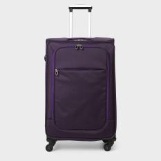 Travel Basic Leon Purple Soft Suitcase
