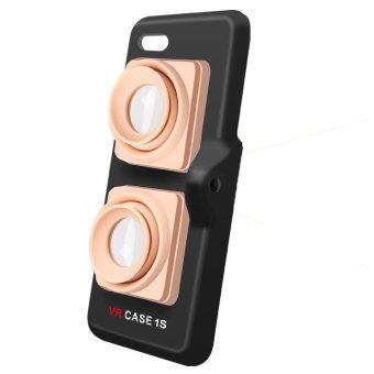 vr case 2s portable super mini selfie accessories for iphone 6 plus 6s plus beige. Black Bedroom Furniture Sets. Home Design Ideas