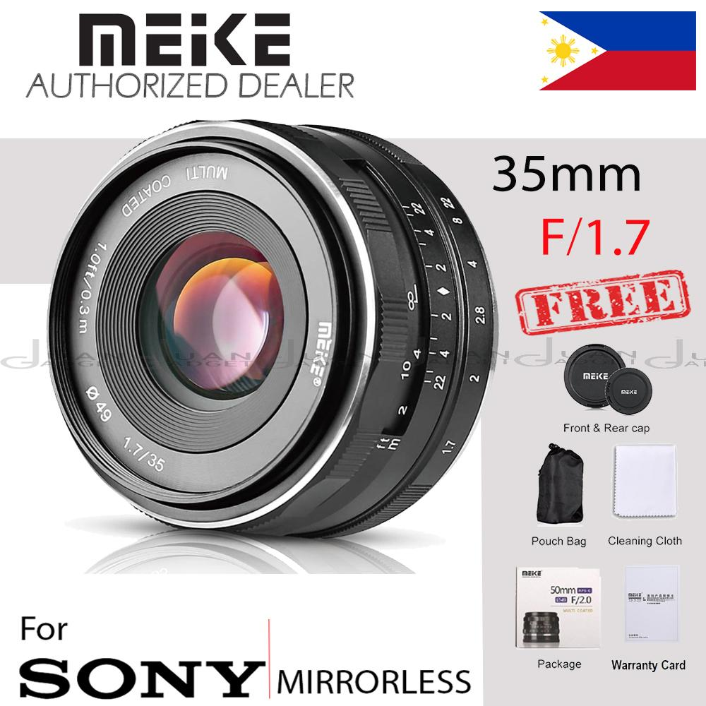 Meike Philippines Price List Lens Extension Flash For L Plate Bracket Kamera Sony Alpha A6000 35mm F17 Large Aperture Manual Prime Fixed Aps C