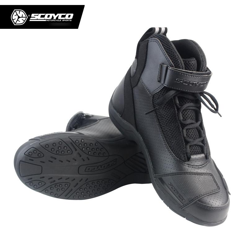e2be3bdcc9d Scoyco scoyco Motorcycle Knight Boots Shatter-resistant Protection Riding  Boots Driving Shoe Motorcycle Shoes Motorcycle