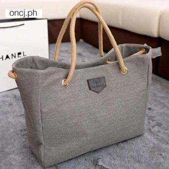 UISN MALL Korean Fashion Canvas Shoulder Bag Hand Bag #8805