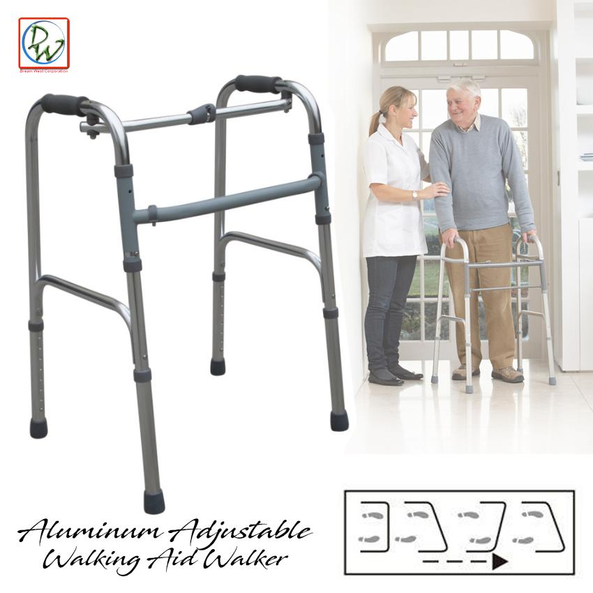 The cheapest price Adjustable Aluminum Alloy Walking Aid Adjustable ...