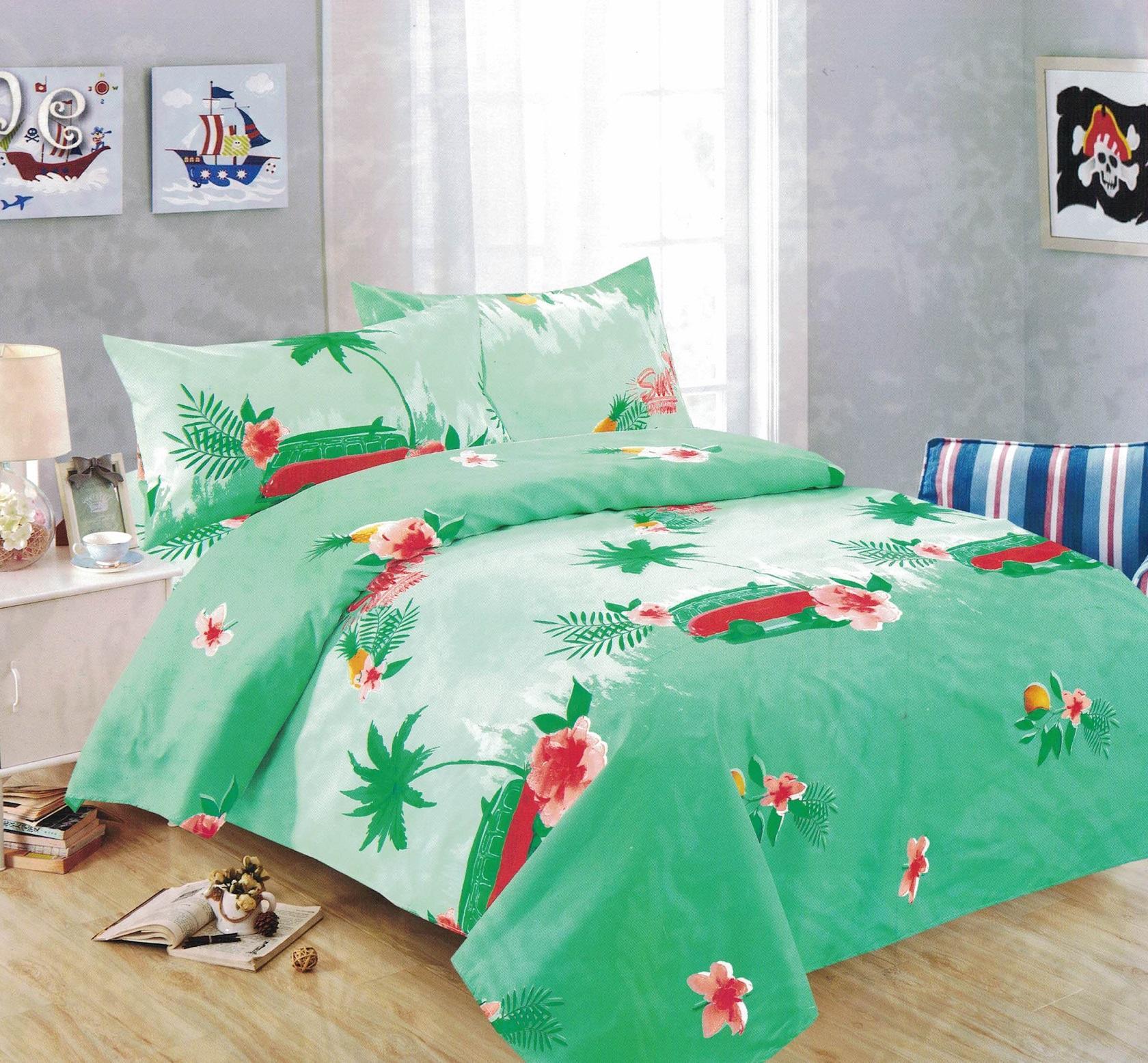 Marvelous Bedtime Bedsheet Single Size 3 Piece Set