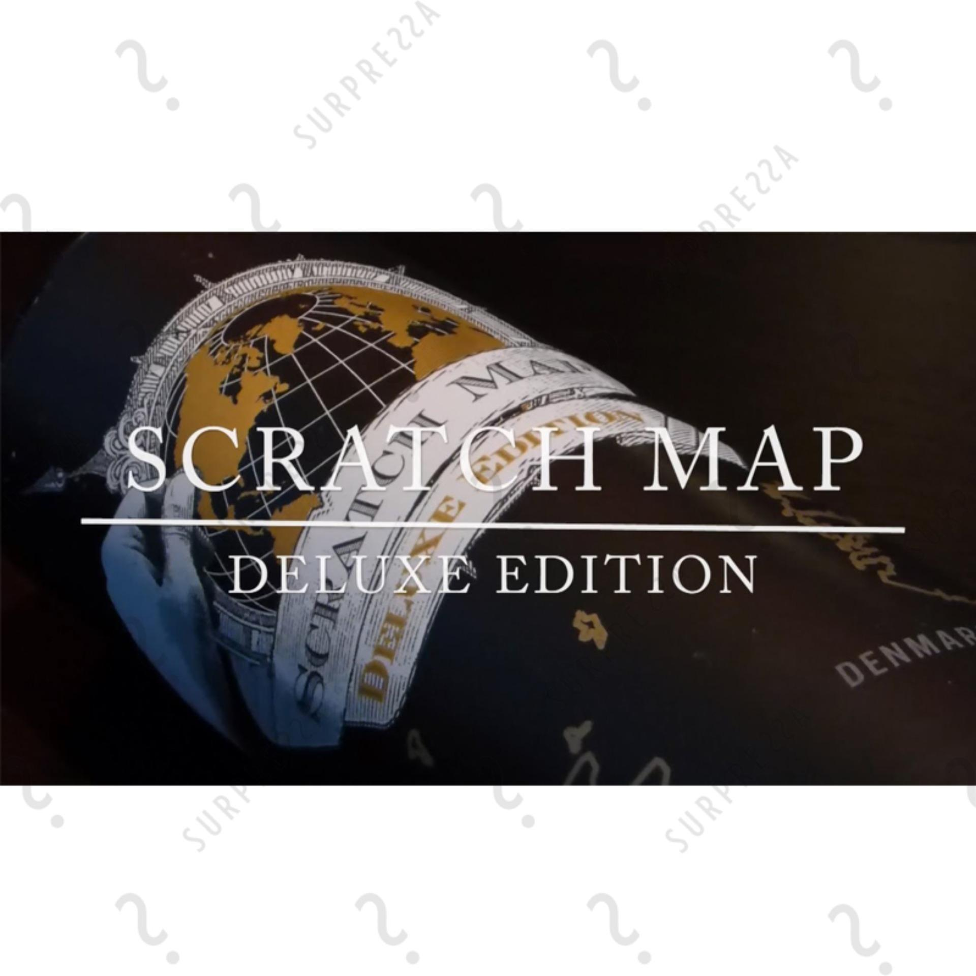 Buy Louis will Novelty World Map Educational Scratch Off Map Poster Source · Deluxe Travel Edition Scratch World Map Poster Black and Gold