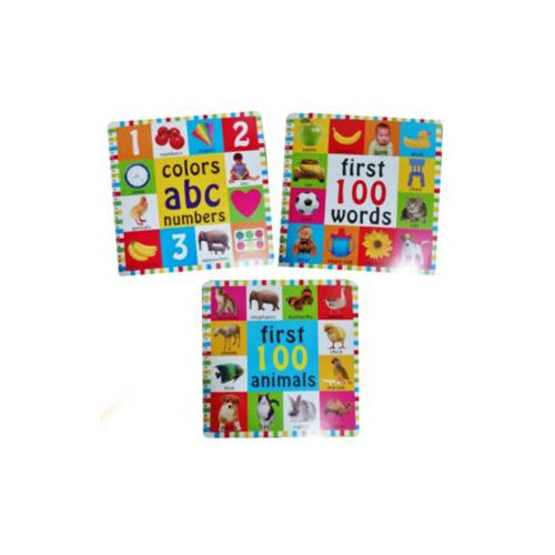 First 100 Words 100 Animal And Abc Numbers Book By Seasonal Sales.