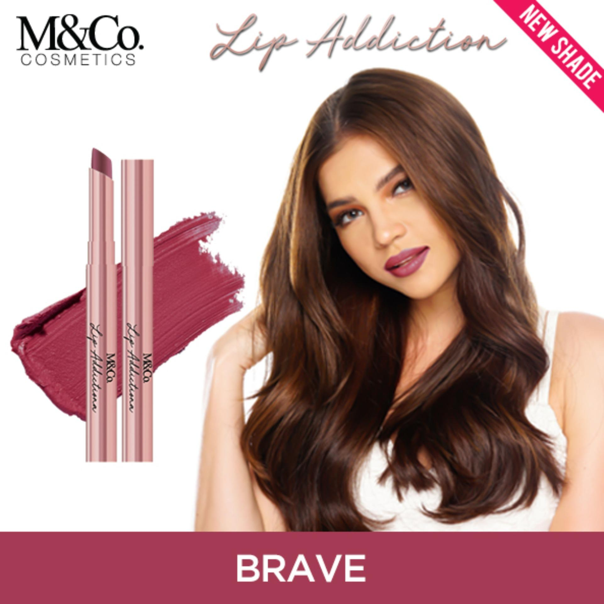 M&Co.Cosmetics LIP ADDICTION Creamy Matte Lipstick – BRAVE Philippines