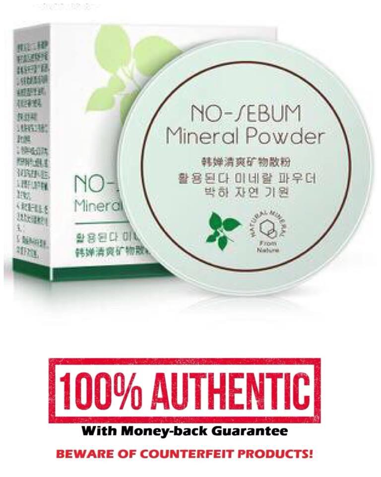 Original No Sebum Powder - From Korea Philippines