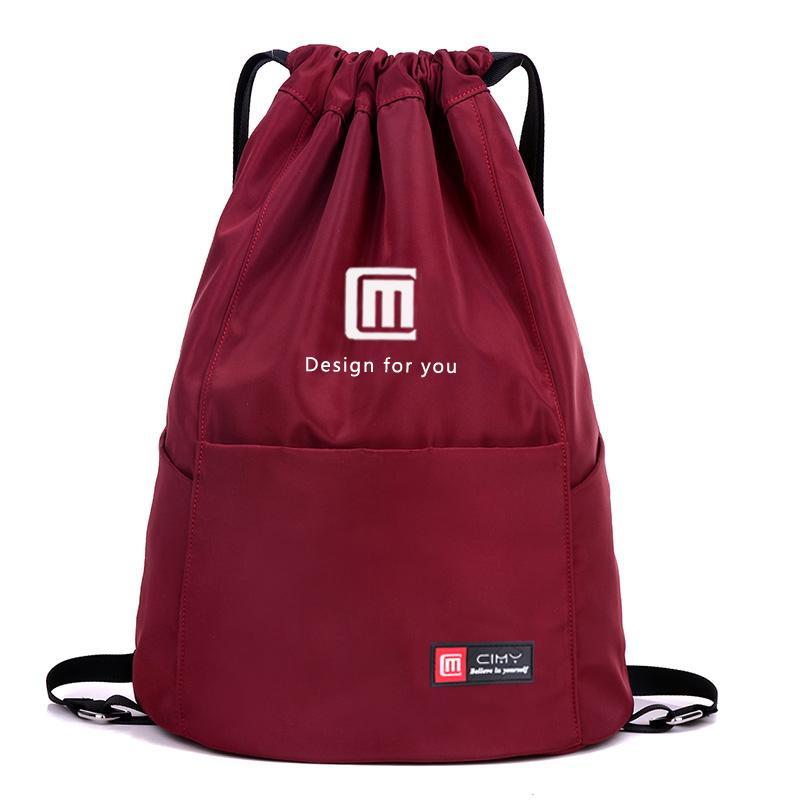Waterproof Drawstring Sport Bag, Lightweight Storage Sackpack Backpack For Men And Women By Micchow Store.