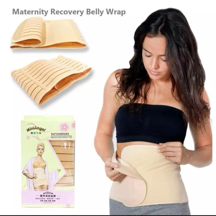 PHP 199. Maternity Post Partum Pregnancy Surgery Recovery Belly Binder Supporting Belt ...