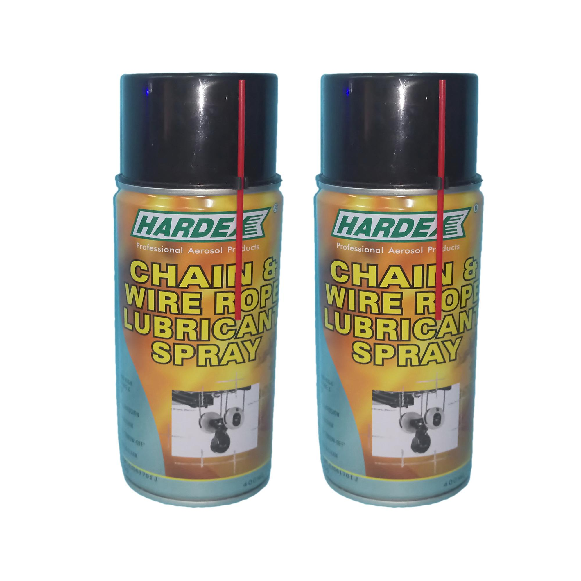 The cheapest price Hardex chain and wire rope lubricant spray 2pcs ...