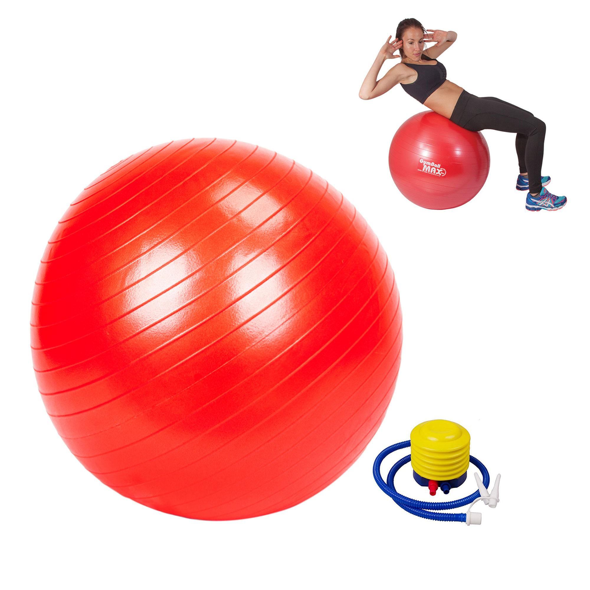 Gym Ball (red) By Gonzalez General Merchandise.