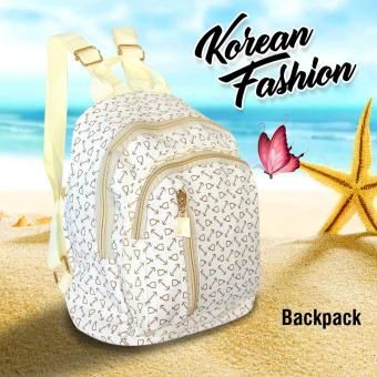 UISN MALL Korean Floral Butterfly Backpack #707
