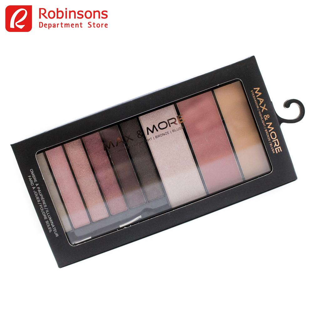Max and More Eye and Cheek Palette Rosy Philippines