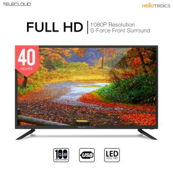 Telecloud X 40 inch 1920 x 1080 Full HD LED TV Television (Black)