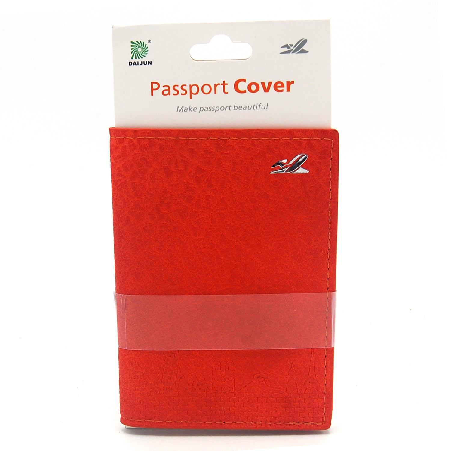 cd96b8d3b Passport Holder  Travel Wallet Case Cover  Traveling Accessory- Leatherette