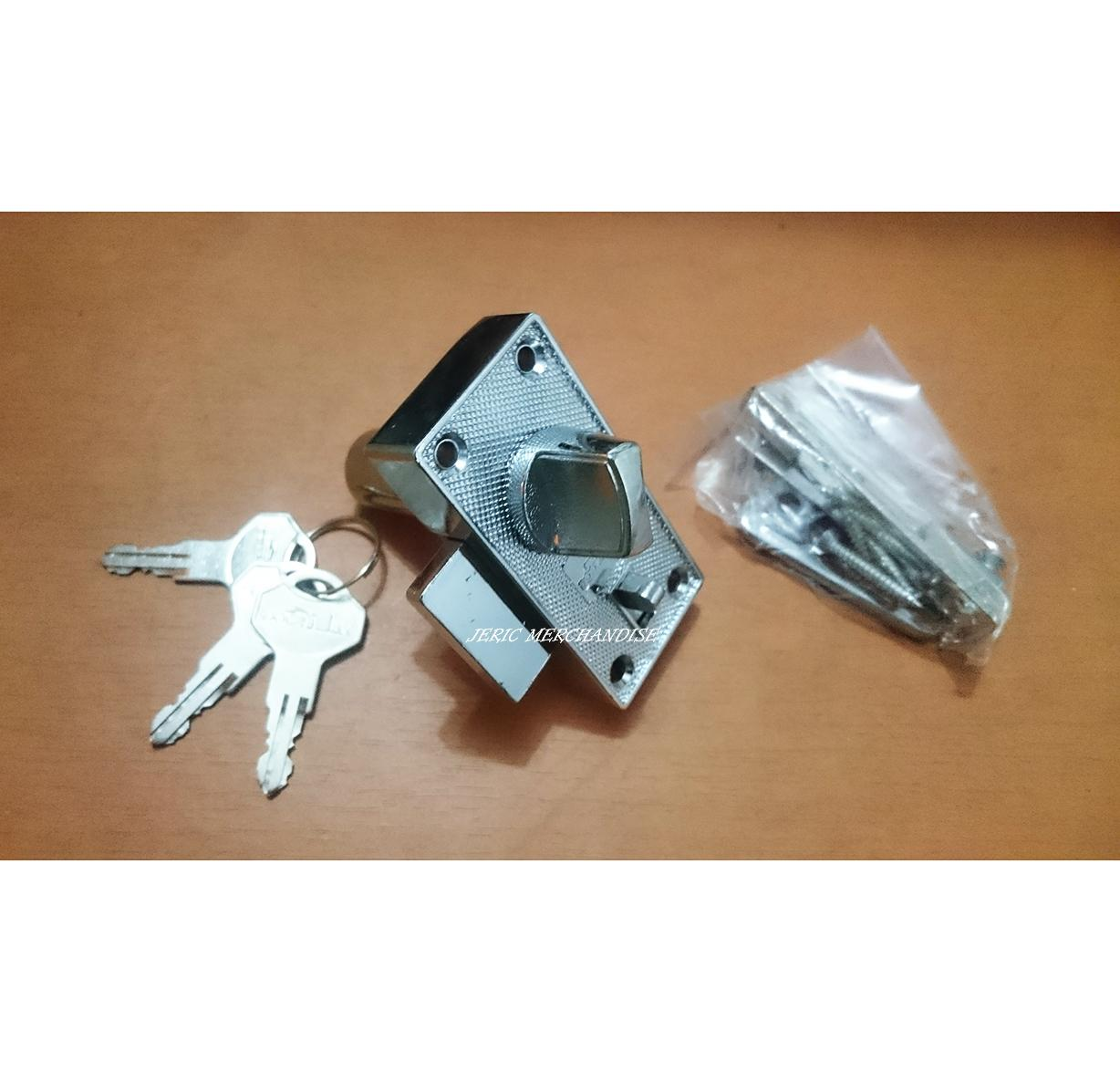 Screen Door Lock (Chrome/ Silver) Philippines