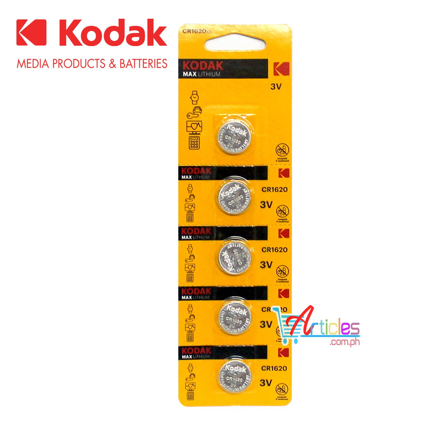 Kodak Philippines Price List Camera Photo Paper Kit 605 Cr1620 Br1620 Dl1620 Lm1620 3v Lithium Cell Button Battery 5 Pieces