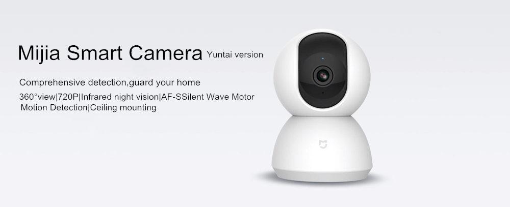 Original Xiaomi Mijia Smart Camera, 360 Angle New Version AI 1080P Night  Vision Web camera , Smart Home PTZ Security Camera MJSXJ01CM , IP Camera