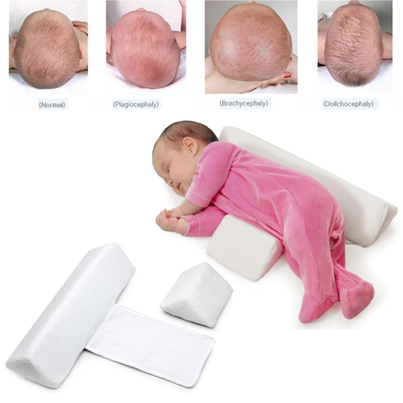 Newborn Baby Cot Pillow Infant Anti