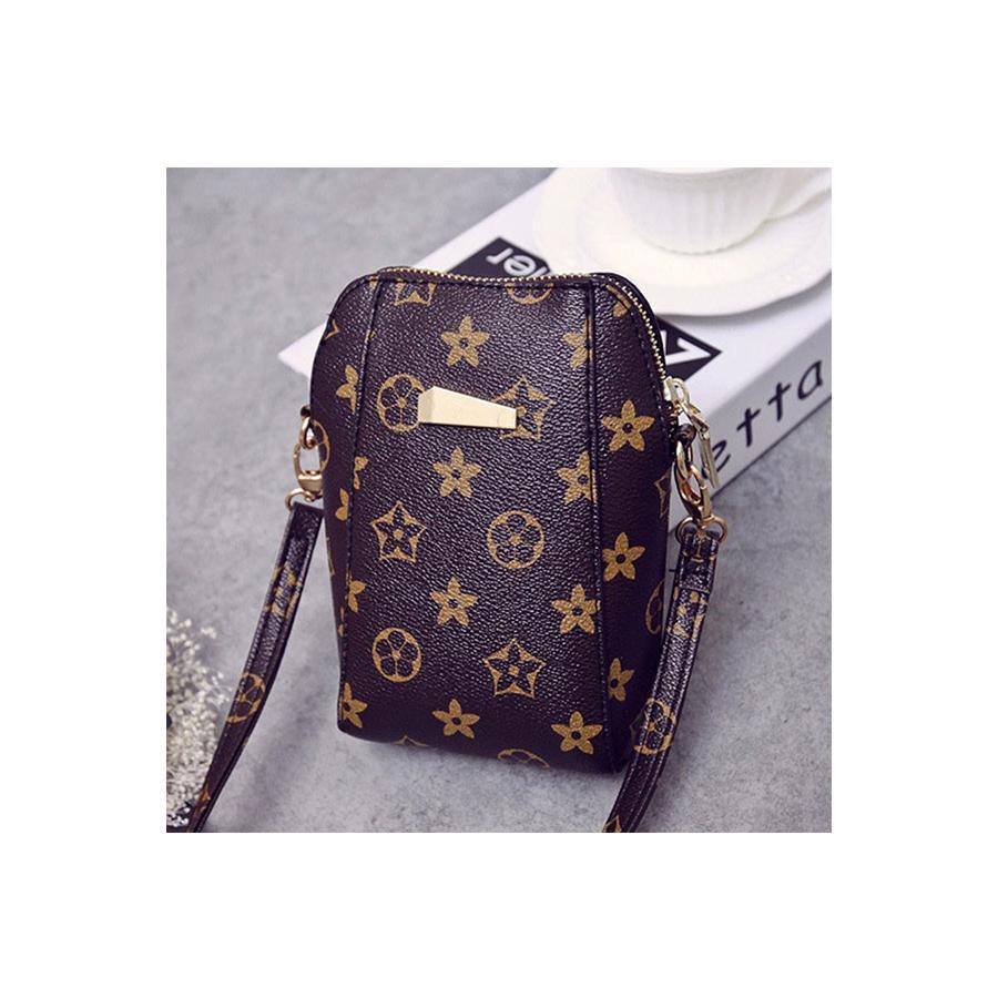 9eb33f00dec AMOG v Style Sling Cellphone Bag PU Crossbody Messenger Bag( one leather  strap only )