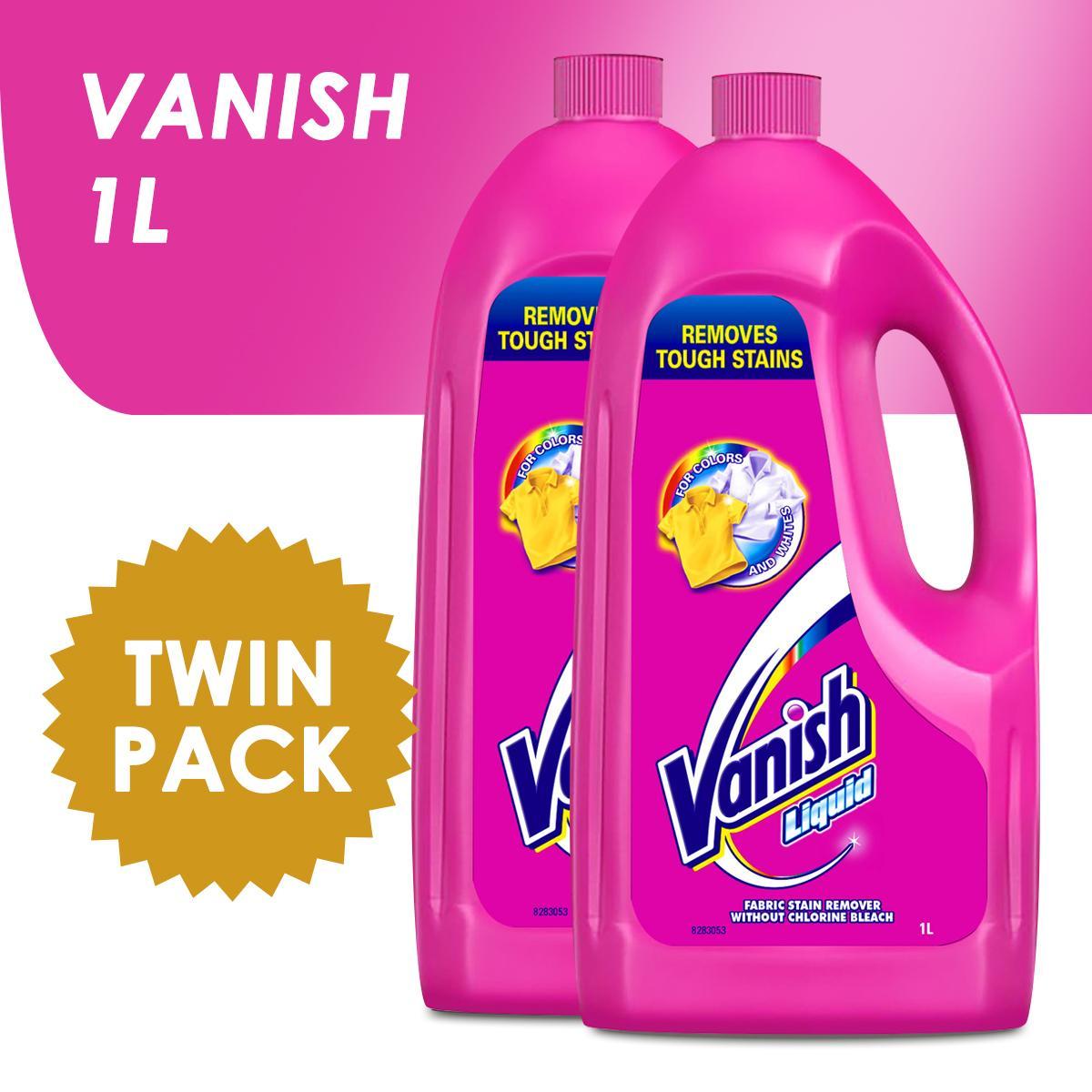 Vanish Liquid Fabric Stain Remover 1l Set Of 2