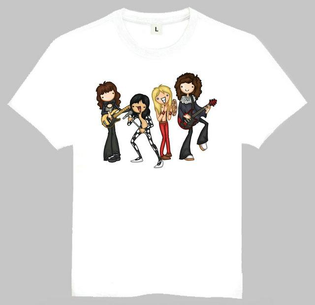 4c4f556c4b0 Rock Band Queen Teenages Queen Freddie Mercury Top Women Mens T-Shirt White  WT51S