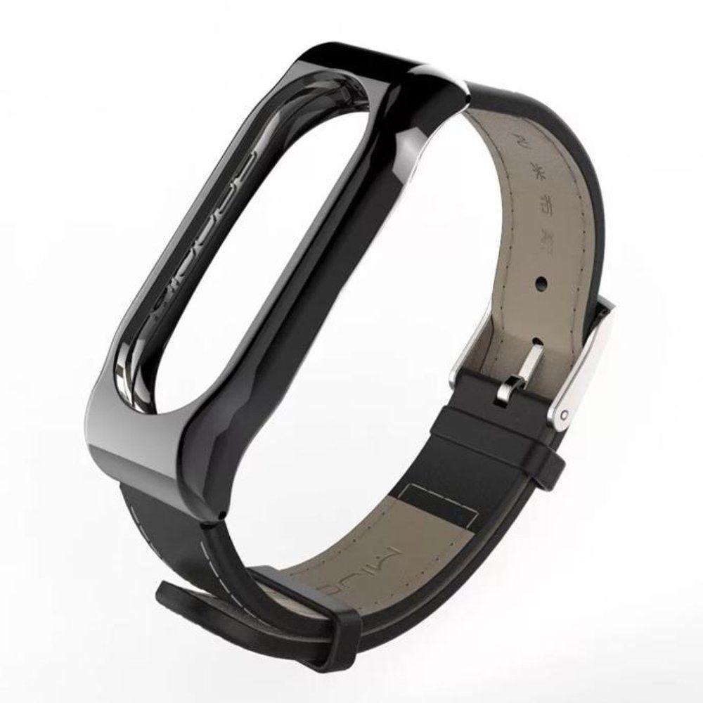 Original Mijobs Xiaoimi Miband 2 Replacement Wrist Strap Genuine Leather