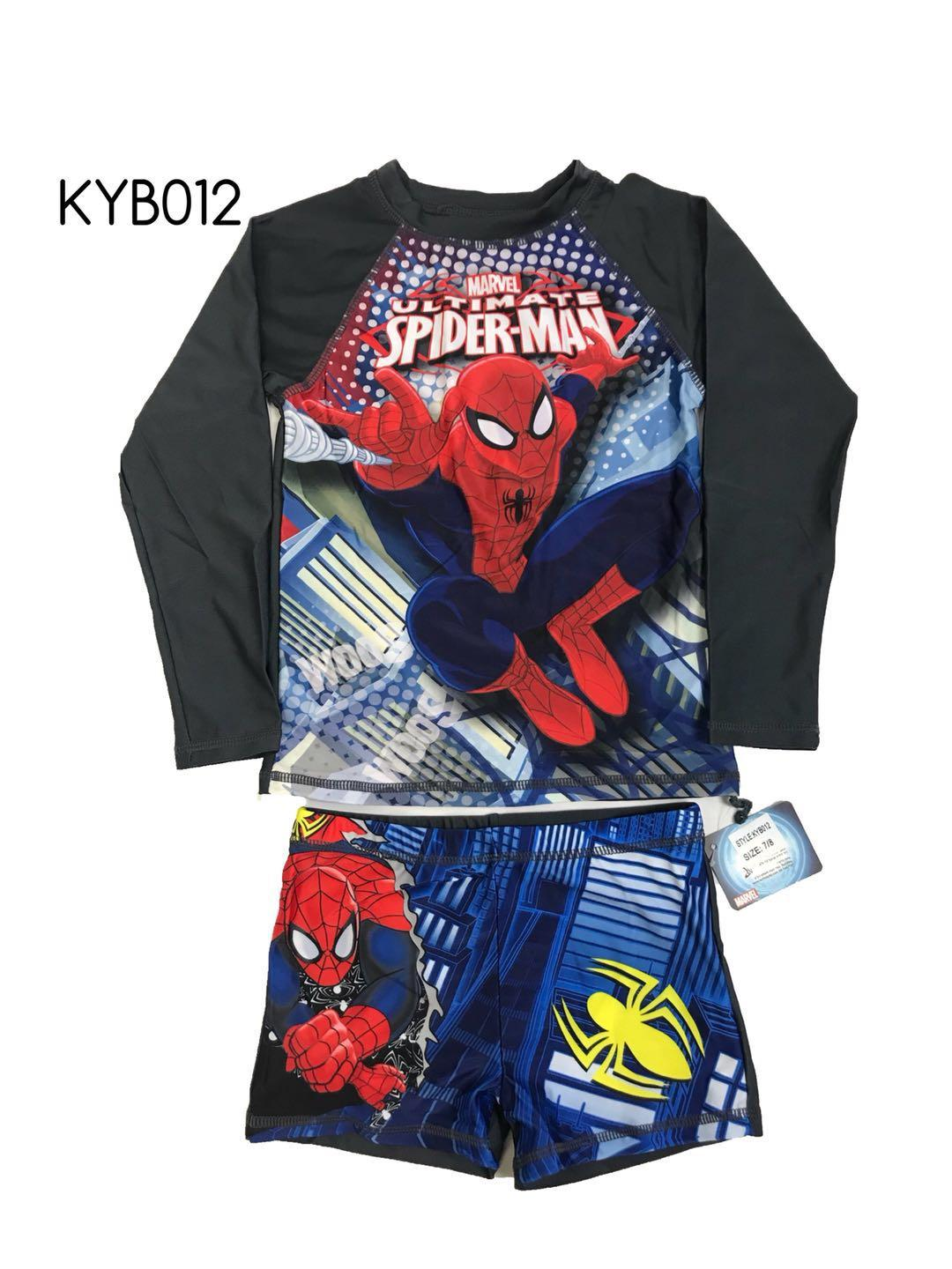 Baby&kids Terno Rashguard Longsleeve And Shorts For Boykyb012 By Joy Wears.