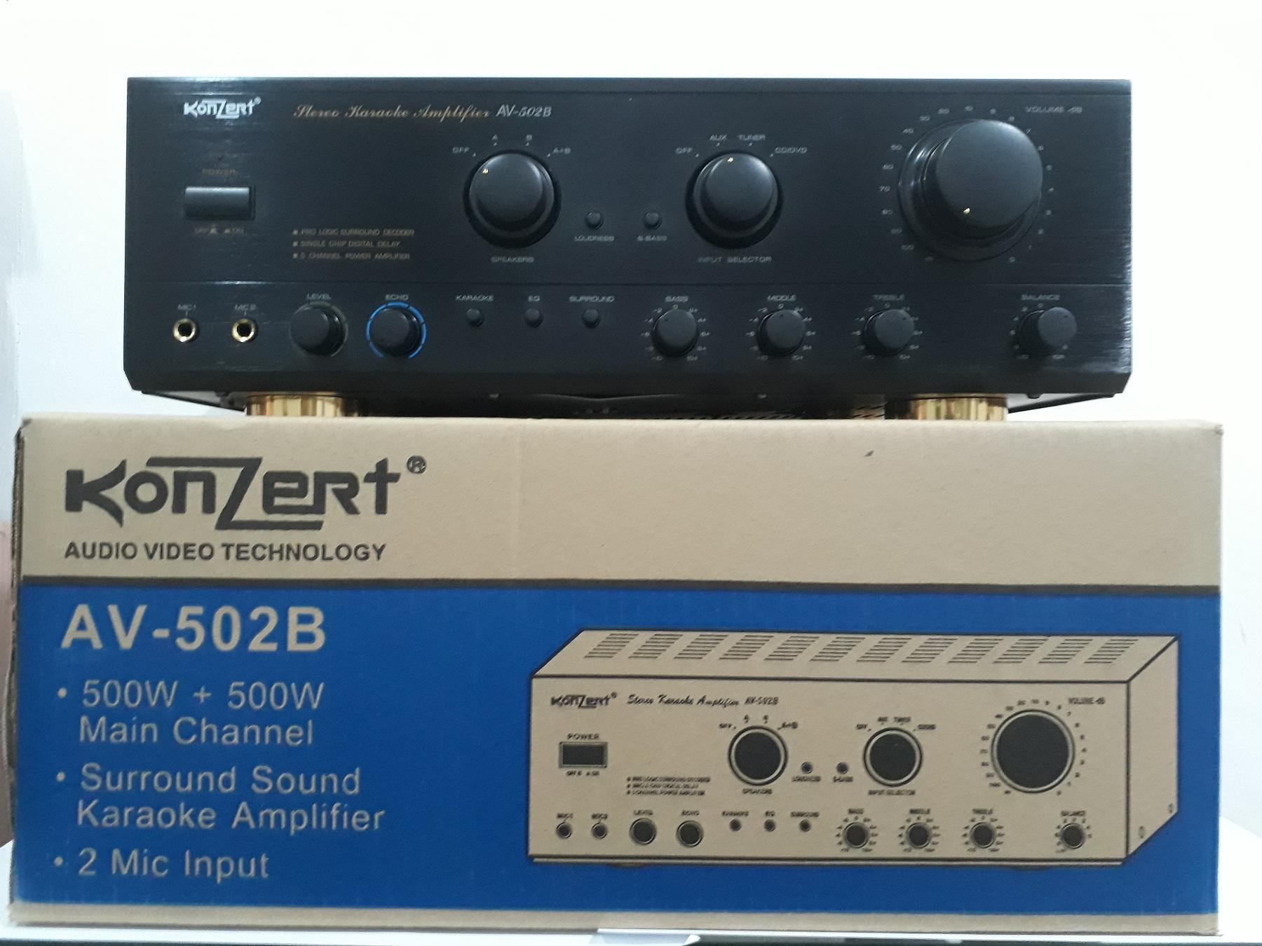 Audio Amplifier For Sale Av Receiver Prices Brands Specs In Bluetooth Circuit Board Buy Konzert 502b