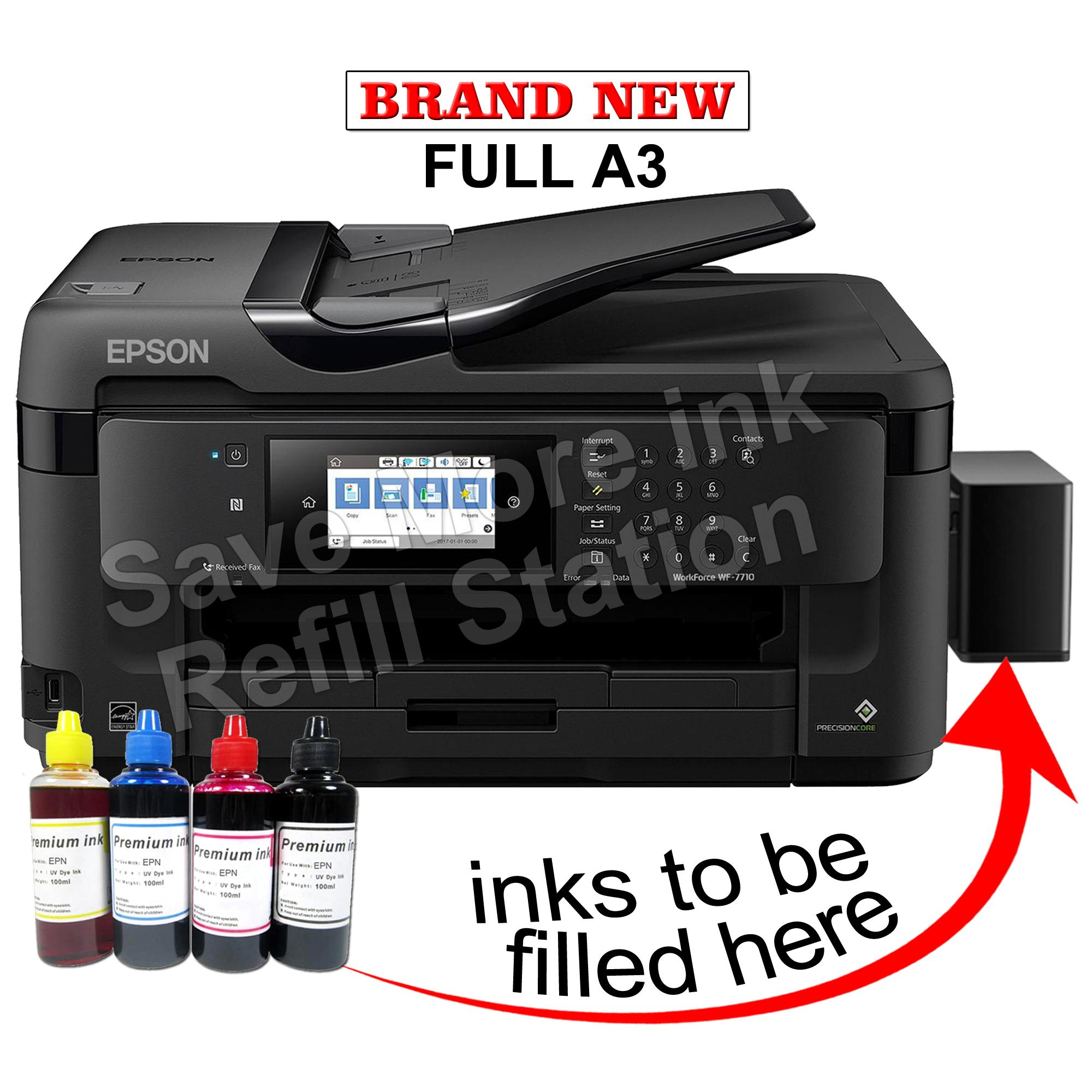 Epson Philippines Price List Printer Scanner Ink L1300 Workforce Wf 7710dwf A3 Wi Fi W Ciss 7710