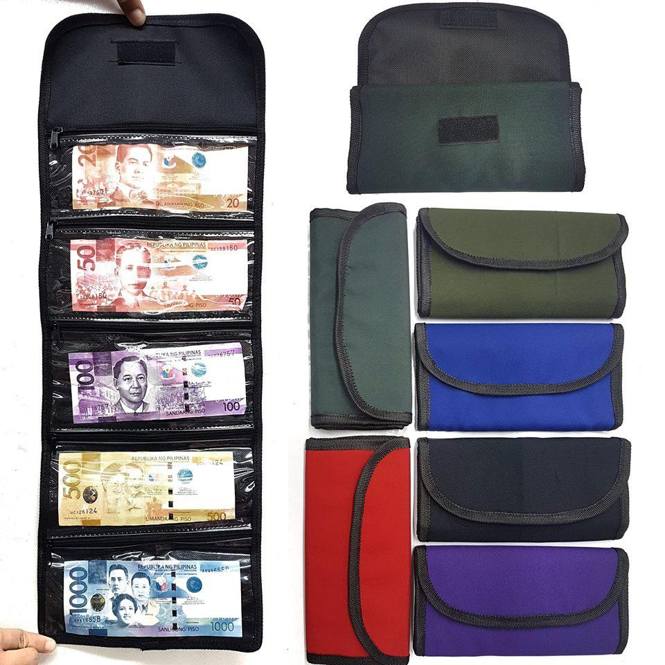 Money Bills Organizer (Color May Vary) Plain Colors- 1 piece Philippines