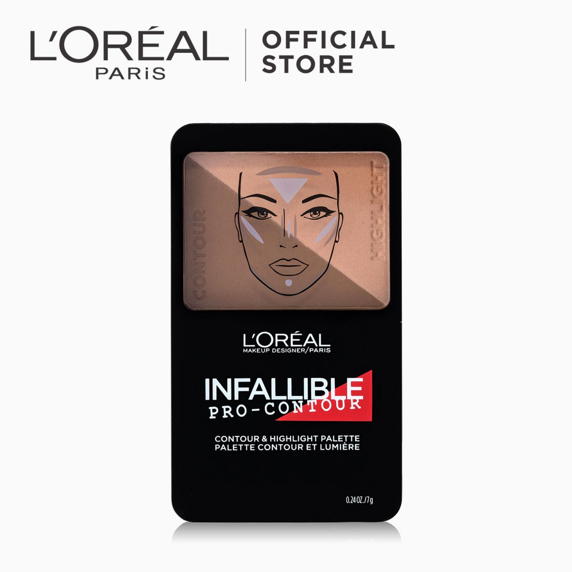 Infallible Pro-Contour & Highlight Palette - Deep [#NeverFail] by LOréal Paris Philippines