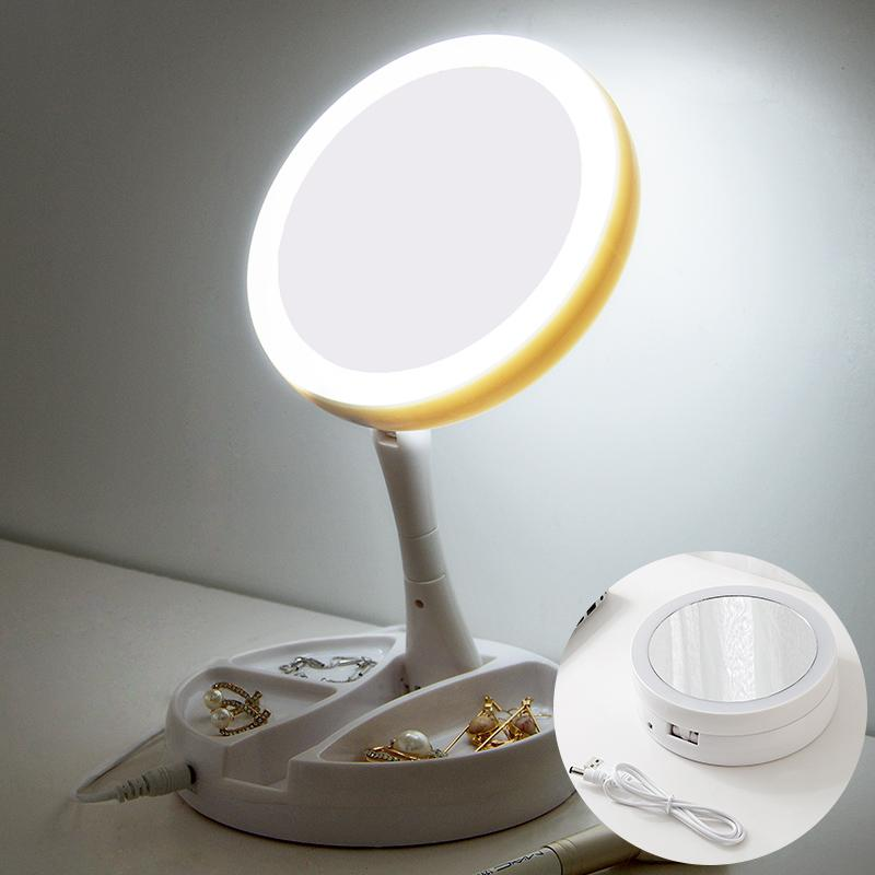 Folding with LED lights mirror Philippines