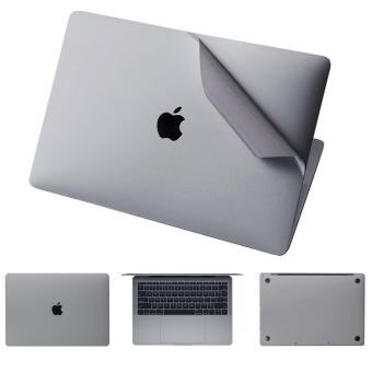 MacBook Pro 13 Inch Sticker Full Skin Cover, Full Body Vinyl Skin Cover Sticker Guard Protector Film forMacBook Pro 13 Model Case :A1989/A1706/A1708 (2018 2017 2016  release)(Silver)